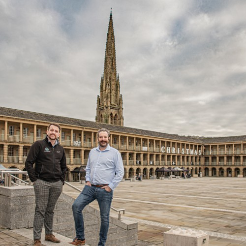 Branding Photography The Piece Hall Halifax West Yorkshire Uk Wide 2 v3